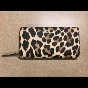 Kate Spade Leopard Wallet